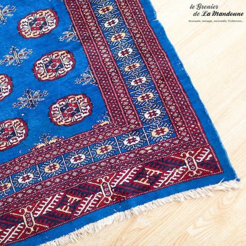 Old Bukhara Pakistan wool Persian rugs handmade 203 x 129 cm