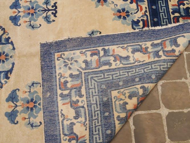 tapis chinois fait main  248 x 153