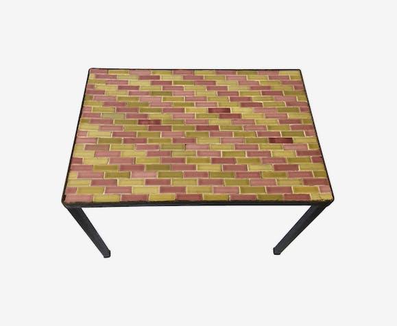 Ceramic vintage coffee table