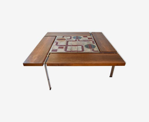 Coffee table by Svend Aage Jessen & Sejer Pottery