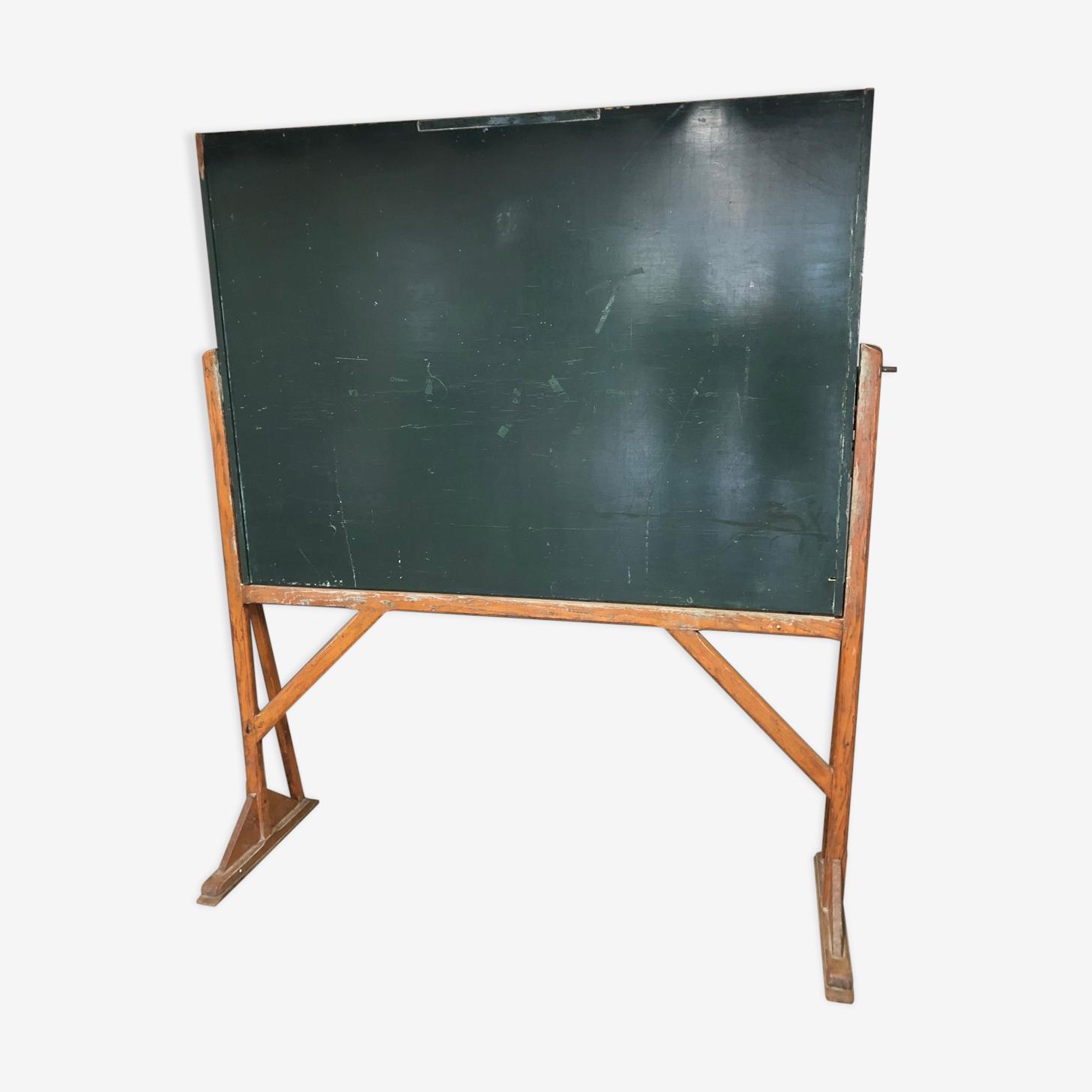 Tableau sur châssis en bois années 50