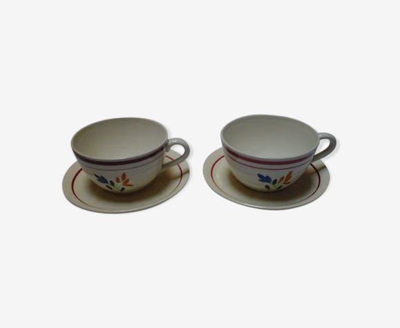 2 tasses Jeannette / Gien