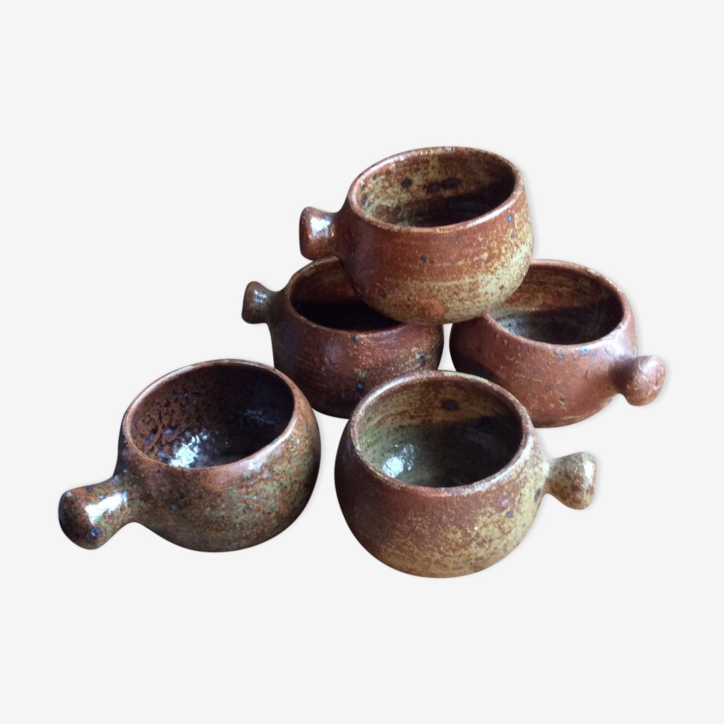 Vintage stoneware bowls