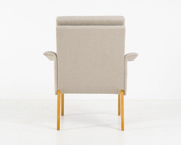 Paire de 2 fauteuils de Miroslav Navratil pour Jitona, années 1960