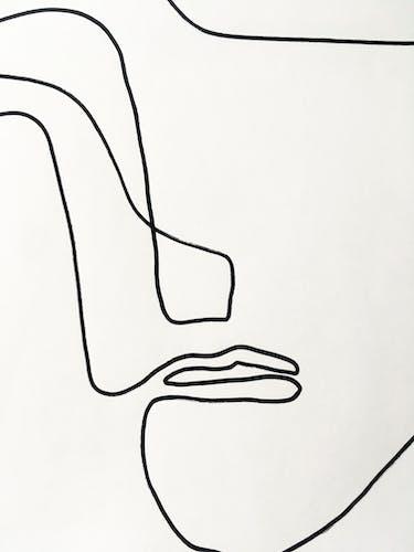Croquis #5 50x70