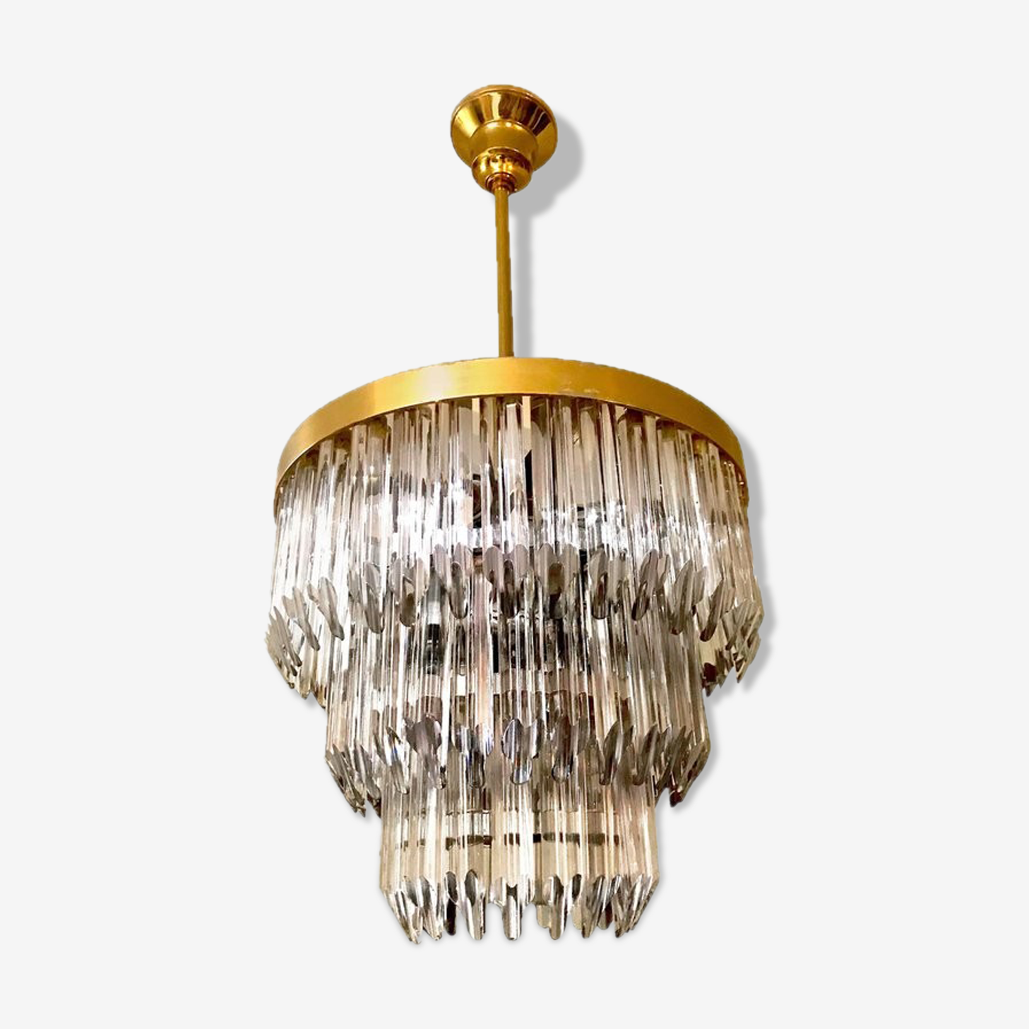 Murano crystal chandelier