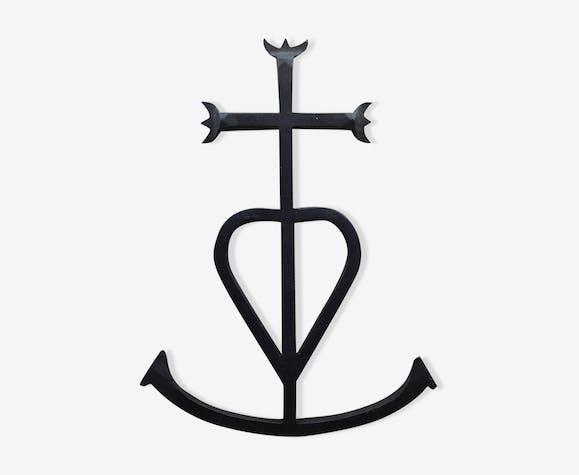 01b2516d4ab Croix de Camargue - metal - black - vintage - sylXbzY
