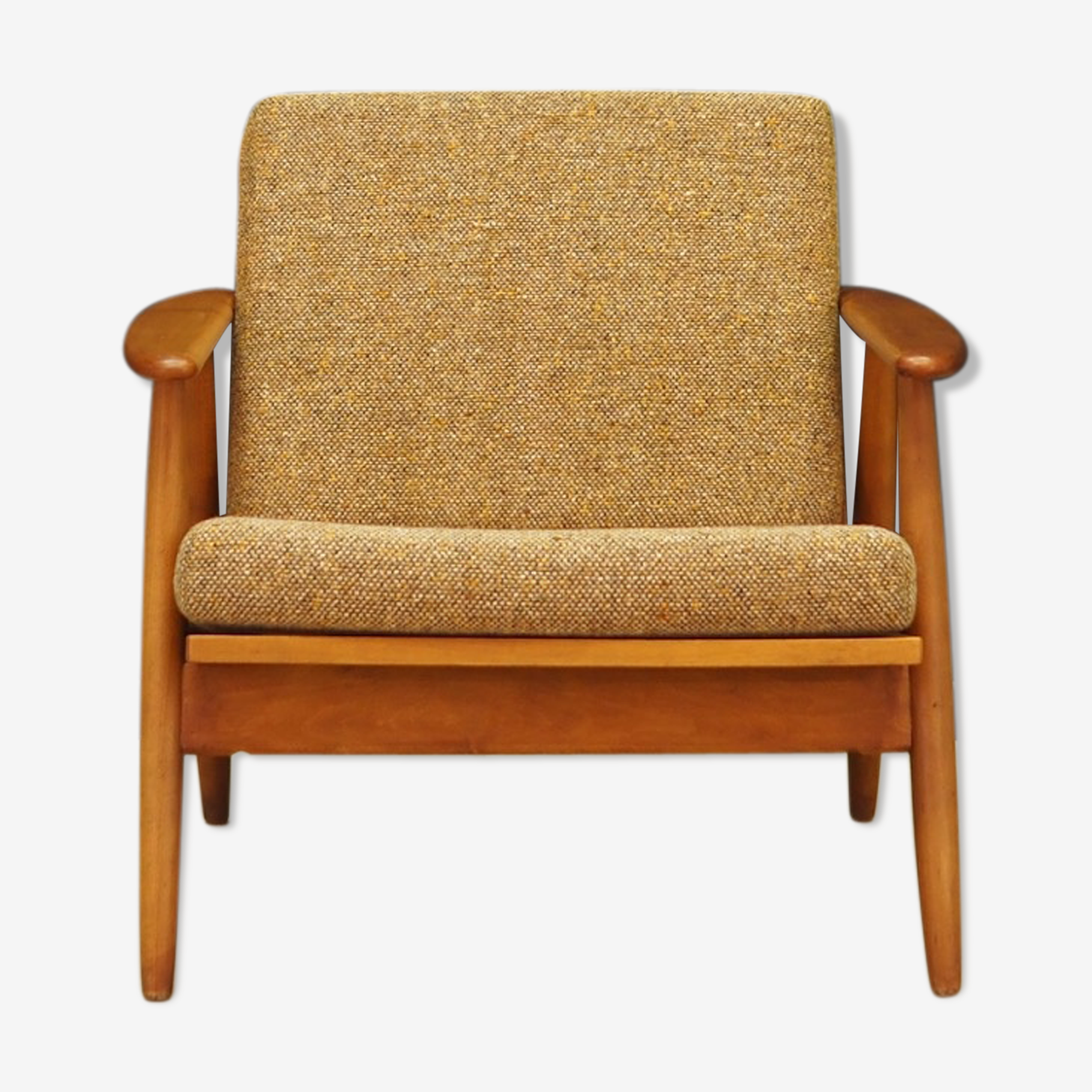 Fauteuil teck danois design vintage rétro