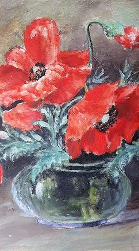 Flower bouquet painting