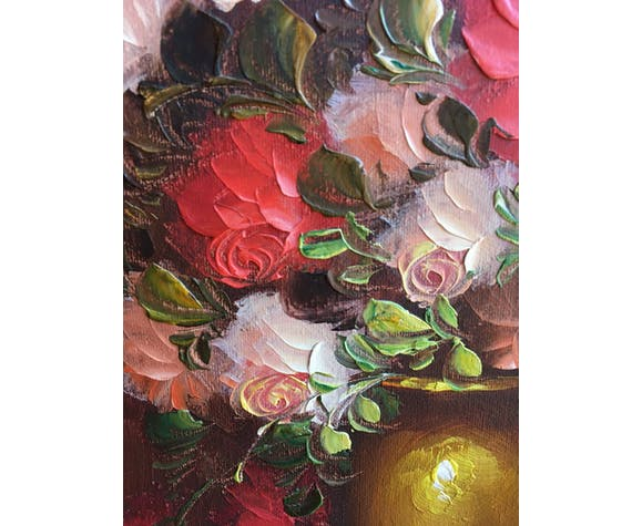 Amado's bouquet of roses