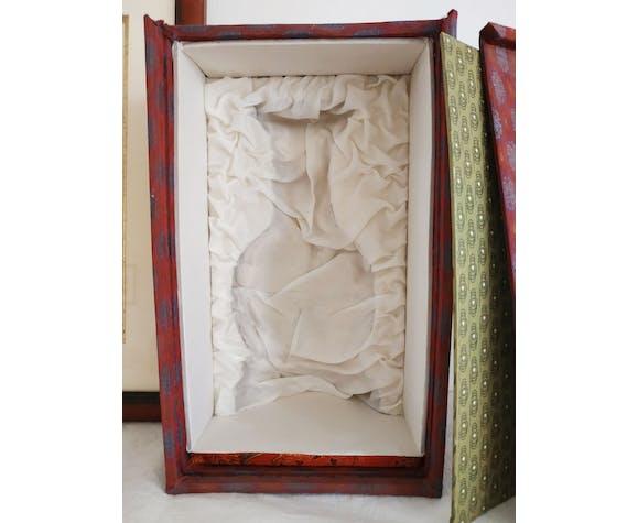 Vase chinois avec sa boîte d'origine