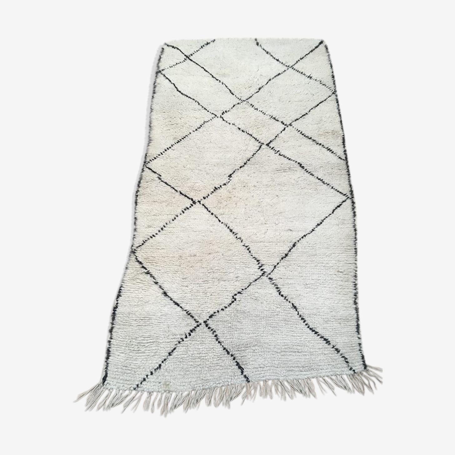 Beni Ouarain carpet 187 x 90 cm