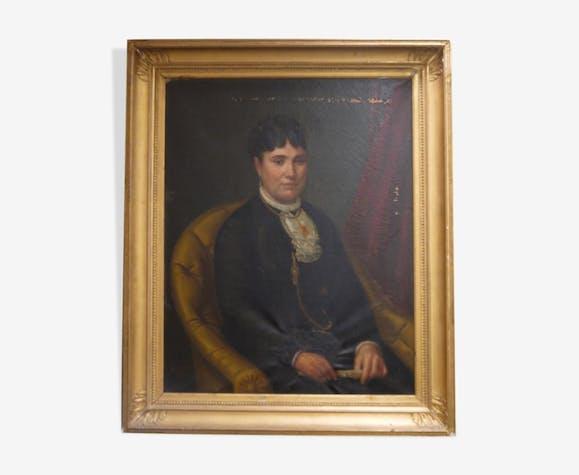 Woman with a fan 1882 Jackson portrait