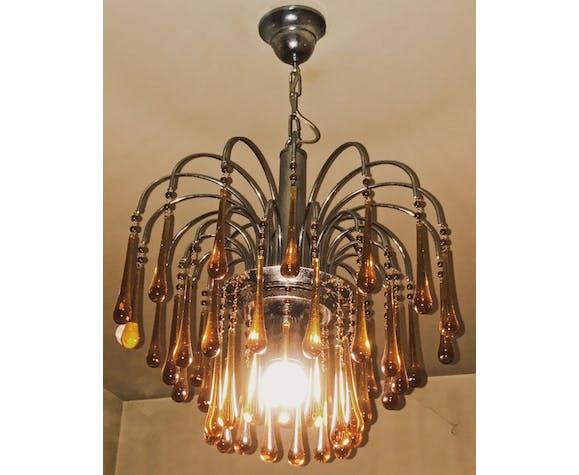 The 1970s Murano chandelier