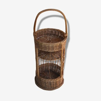 Door bottle rattan