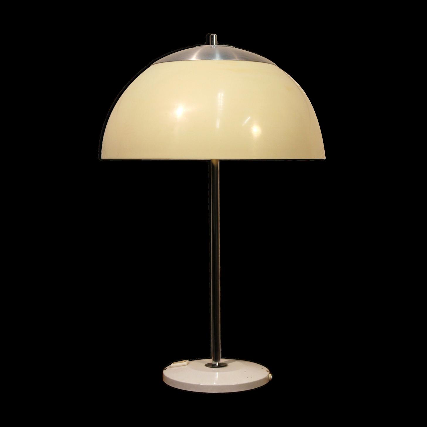 Merveilleux Lampe Champignon Unilux Années 70