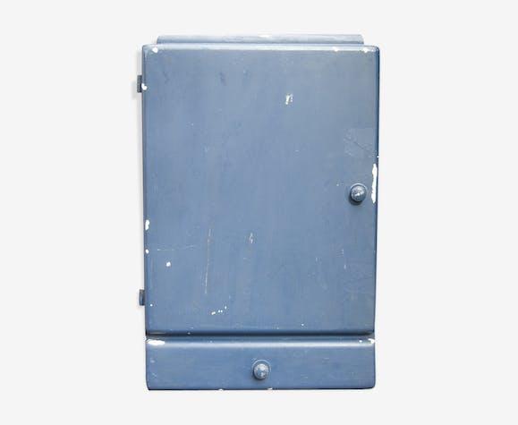 Armoire à pharmacie de salle de bain en bois bleu - bois (Matériau ...