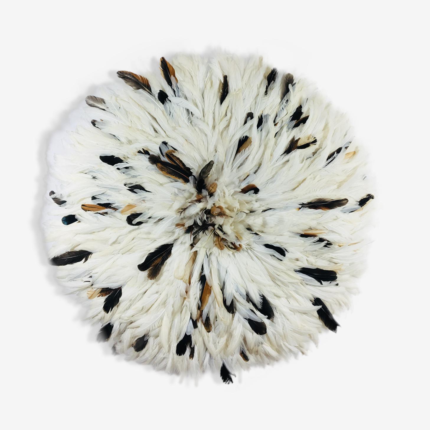 Juju hat black white 80 cm