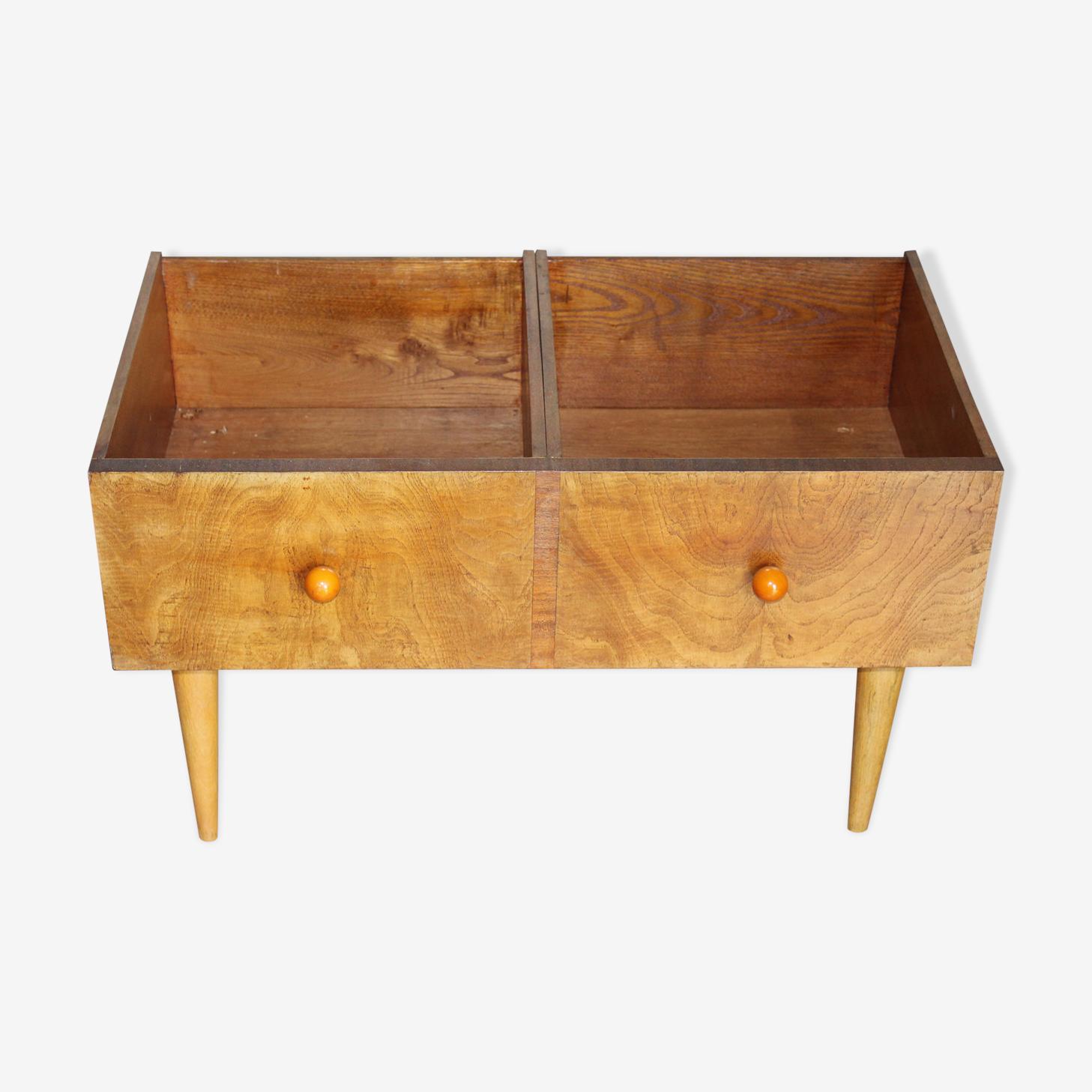 Meuble De Rangement Pour Livres meuble de rangement disques vinyle, bd, livres pour enfants… - wood