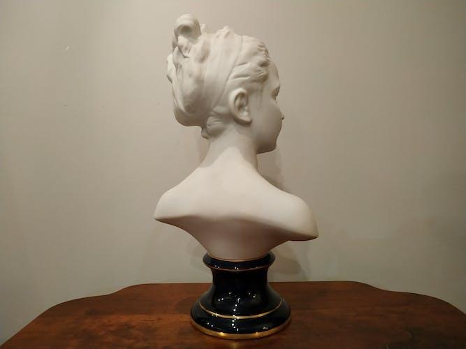 Buste de Louise Brongniard Limoges