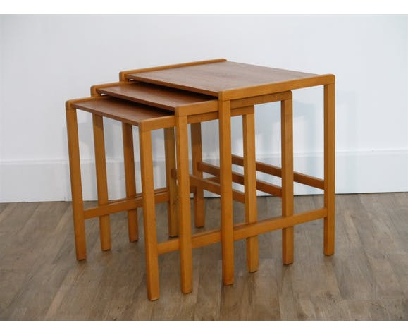 Scandinavian pull out tables 1960