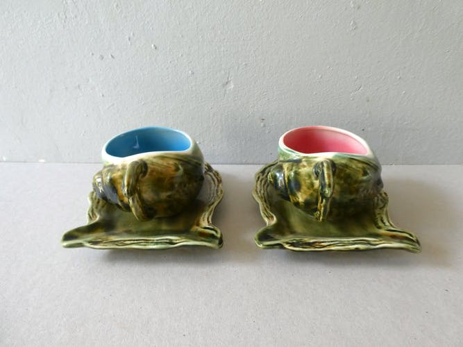 2 cups and under dabcupine cups, shellfish shape
