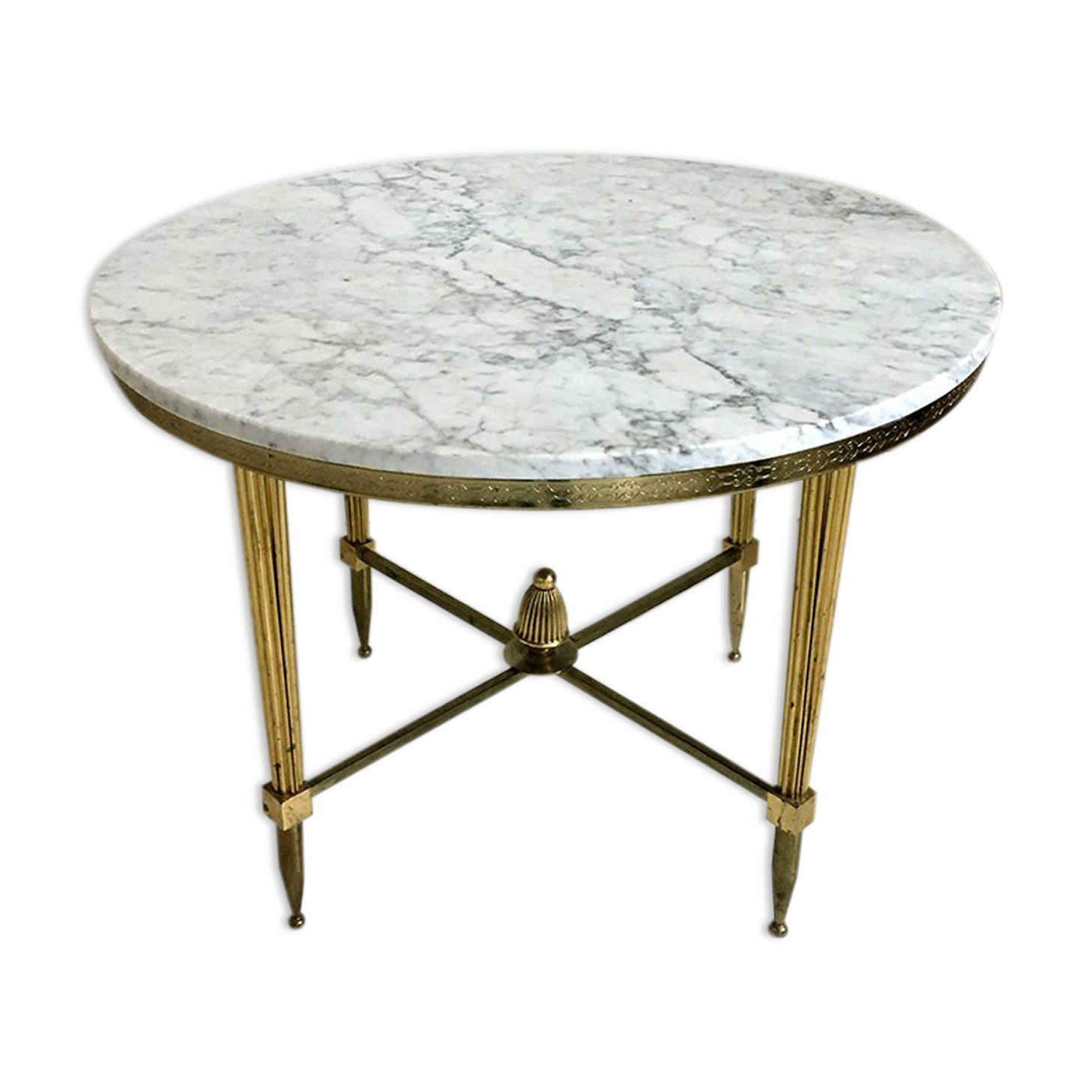 Table marbre ronde fabulous fabuleux saarinen table basse - Table ronde en marbre ...