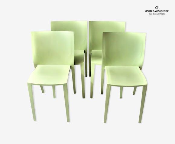 Philippe 4 Starck Par 'slick Eid2h9yw Slick' Chaises Plastique Vert drCWoBxe