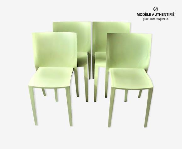4 chaises 'slick slick' par Philippe Starck   Selency
