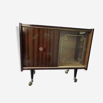 authentique frigidaire vintage general motors m tal beige vintage 89740. Black Bedroom Furniture Sets. Home Design Ideas