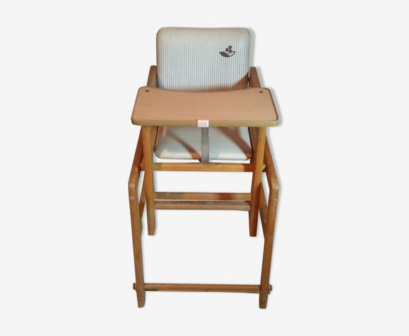 Chaise haute modulable des années 70