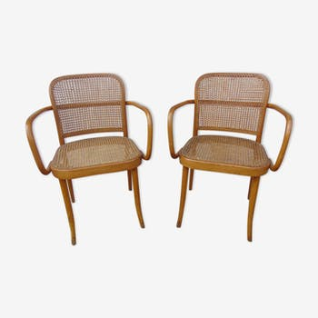 Pair of chairs from the 1950s Thonet