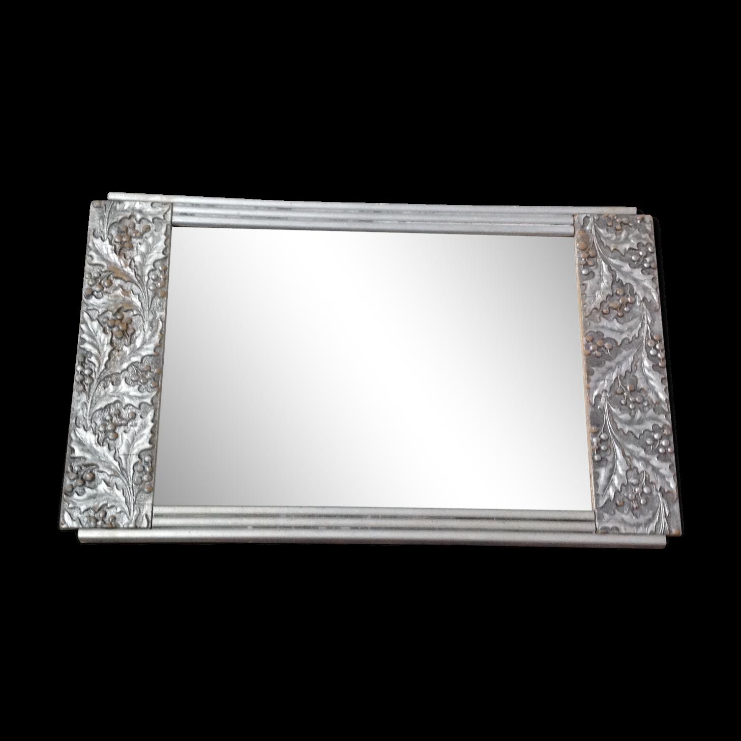 Miroir Art Déco 41 X 25cm
