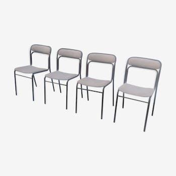Chaises métallique Souvignet