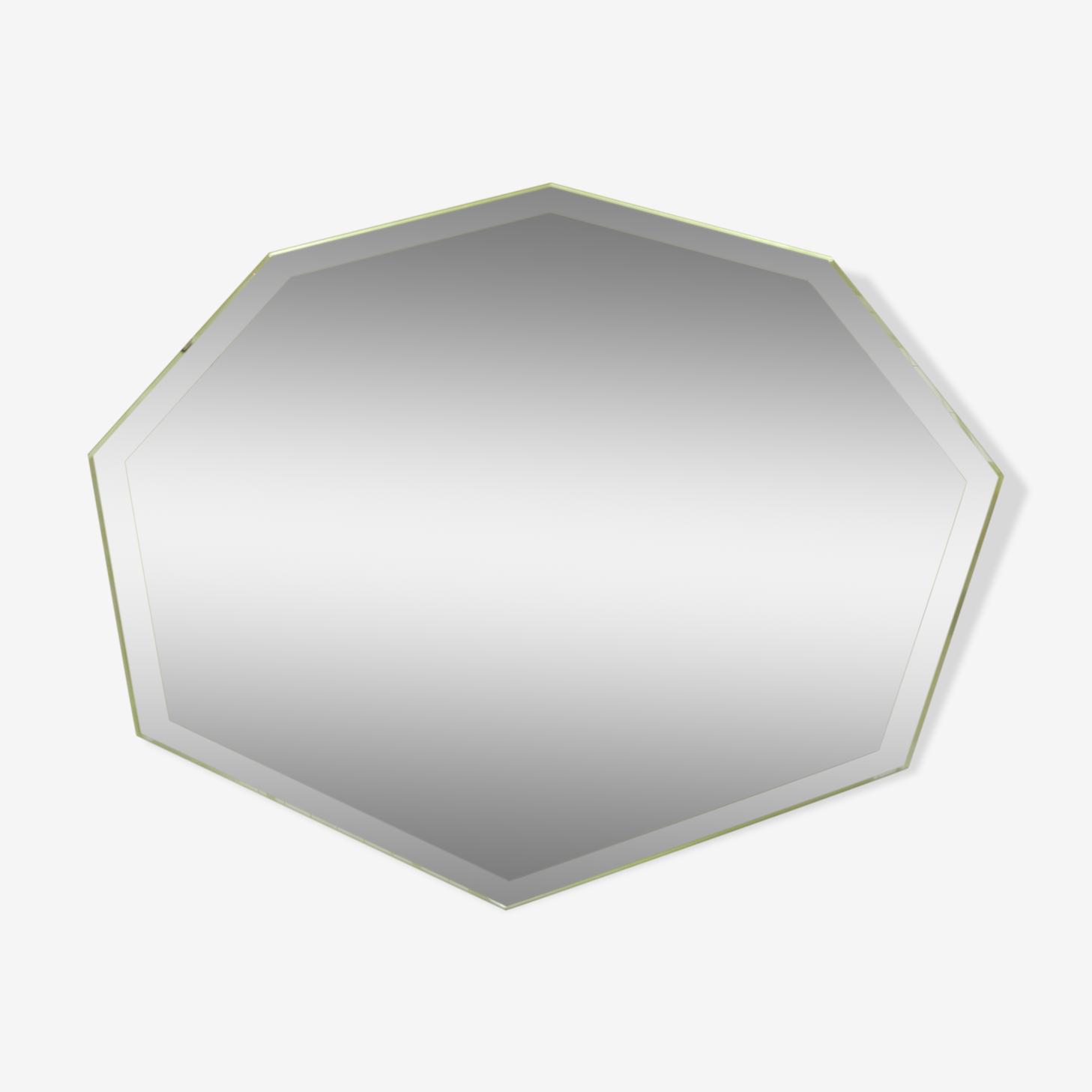 Miroir octogonal 45x18cm
