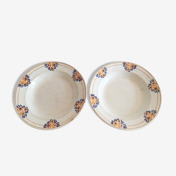 Longwy vintage plates