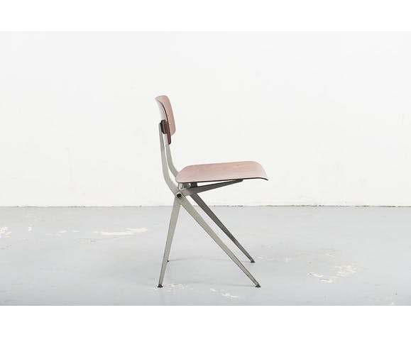 "Chaise Marko S201 ""Spinstoel"" chêne blanc"
