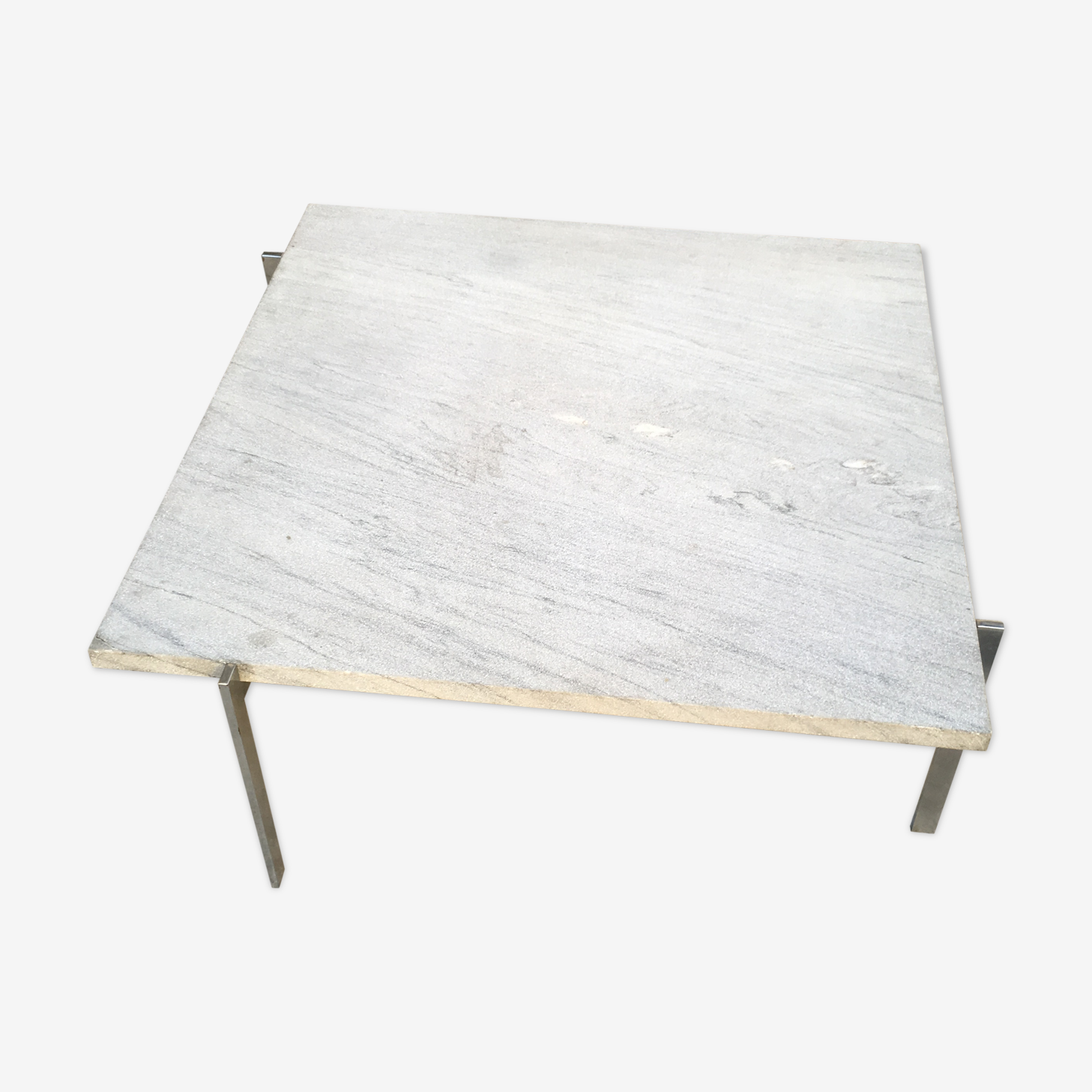 Table basse Poul Kjaerholm PK 61
