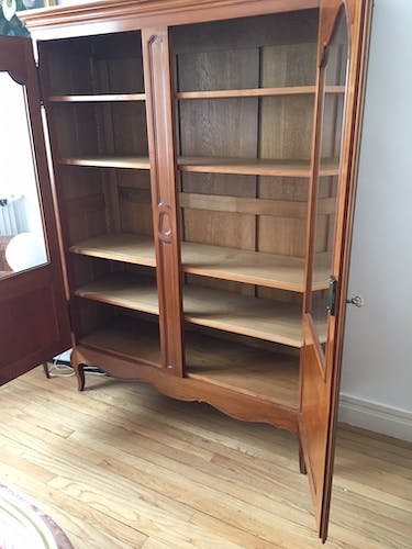 Louis XV style bookcase
