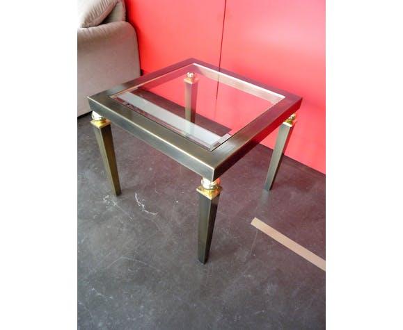 Table basse néo-classique Belgo Chrom