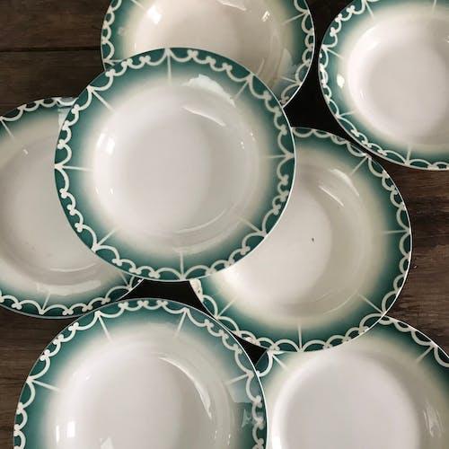 Lot of 8 plates Digoin 1940