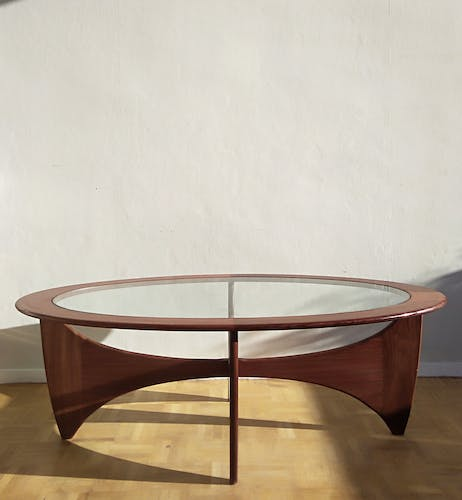 Astro Oval Coffee Table - Victor Wilkins Design - G Plan edition - 1960s