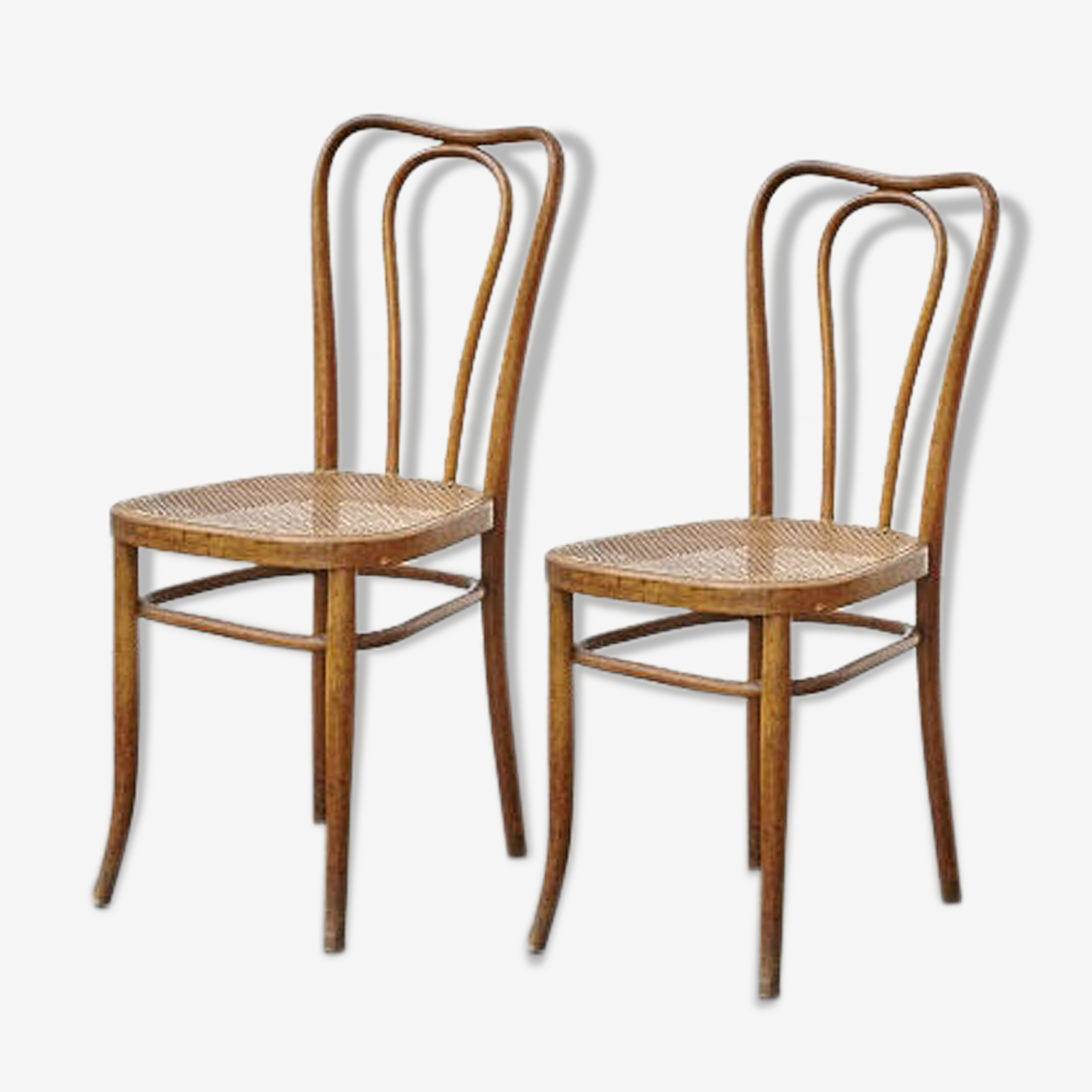 Set of 2 chairs bistro