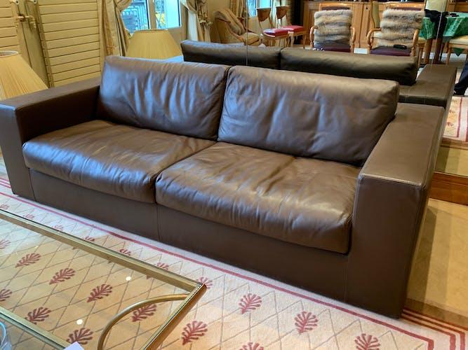 Canapé cuir Armani casa