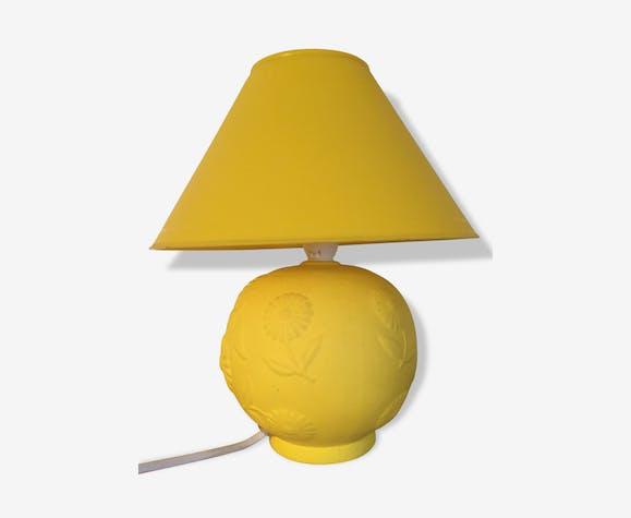 Lampe De Chevet Jaune Citron Ceramics Porcelain And Earthenware