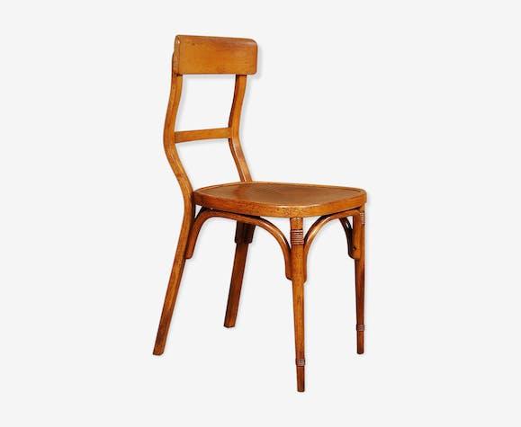 Chaise bureau atelier Baumann années 20