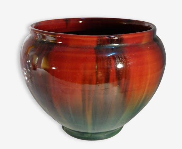 petit pot cache pot vintage en c ramique j r me massier vallauris c ramique porcelaine. Black Bedroom Furniture Sets. Home Design Ideas