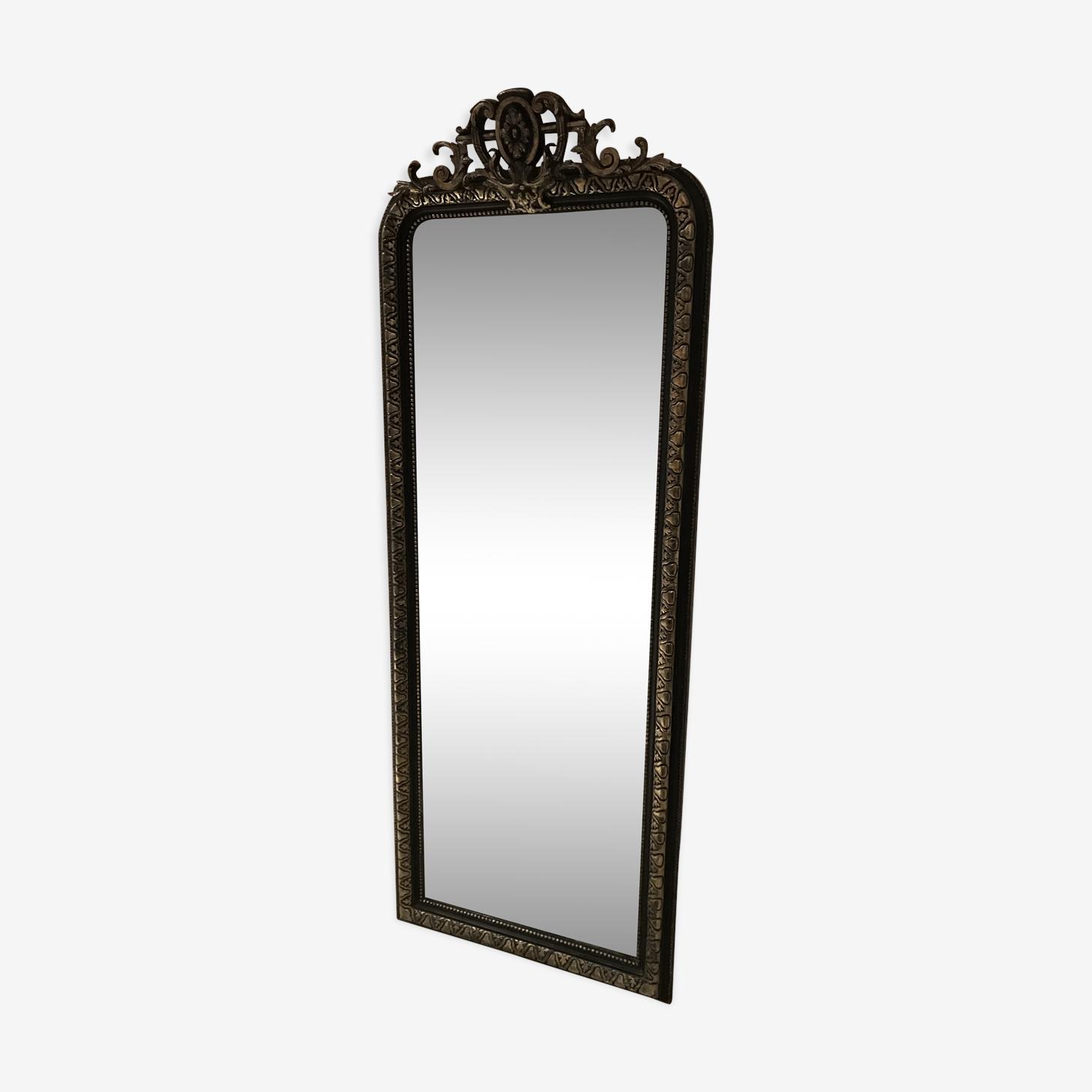 Miroir entre-deux Napoléon III 66x172cm