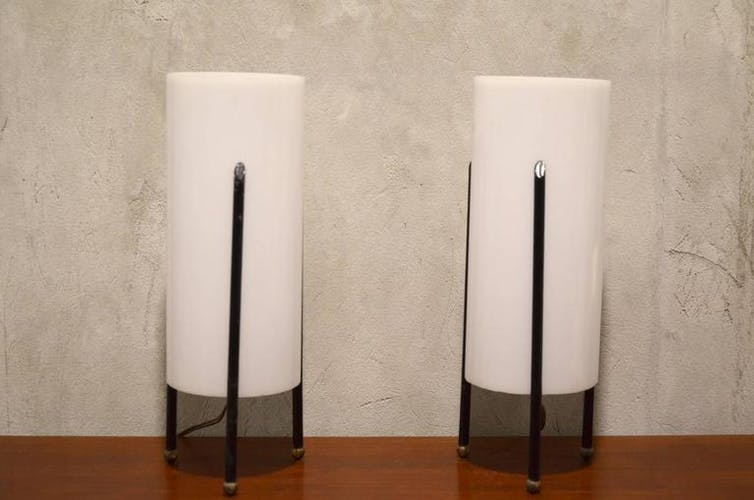 Set of two lights of Italian table 1960s