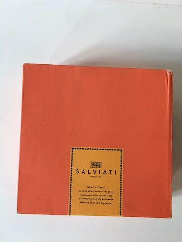 Suite de 6 verres Salviati